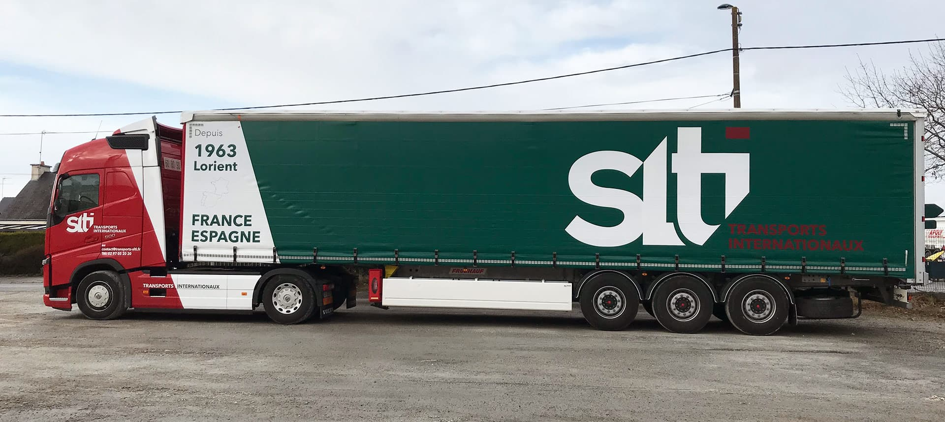 Camion SLTI-Transports